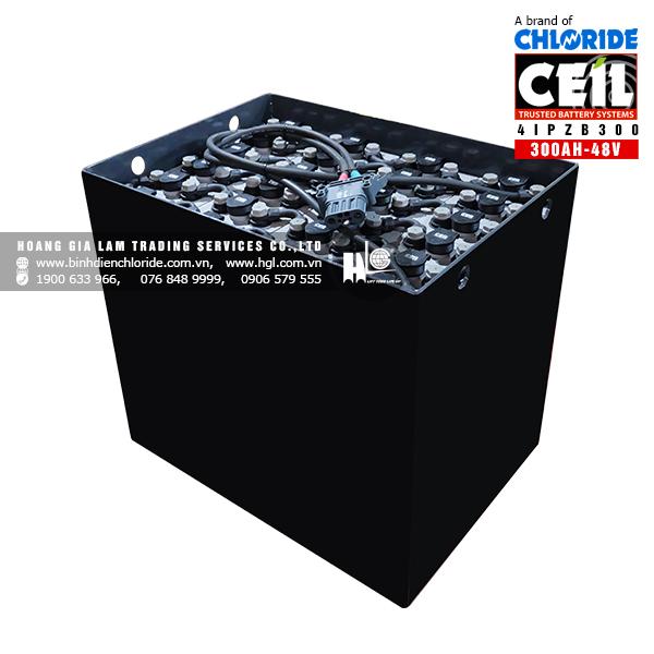 Bình điện xe nâng CEIL (Chloride) 48V - 300Ah 4IPZB300