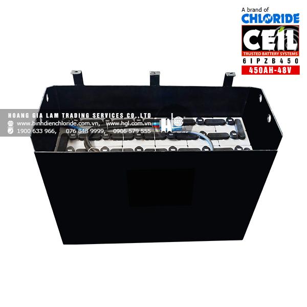 Bình điện xe nâng CEIL (Chloride) 48V - 450Ah 6IPZB450