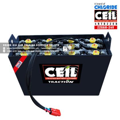 Bình điện xe nâng CEIL (Chloride) 24V - 220Ah 4RTB220B