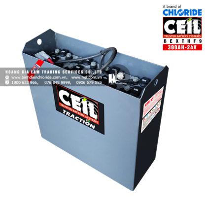 Bình điện xe nâng CEIL (Chloride) 24V - 300Ah BEXTHF9