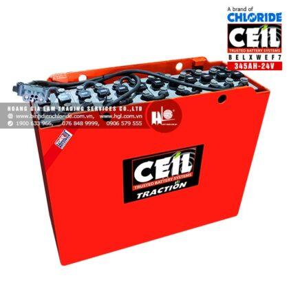 Bình điện xe nâng CEIL (Chloride) 24V - 345Ah BELXWEF7
