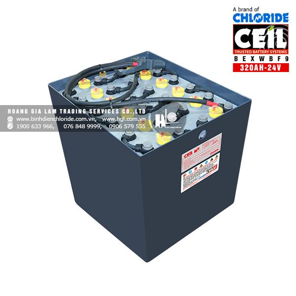 Bình điện xe nâng CEIL (Chloride) 24V - 320Ah BEXWBF9